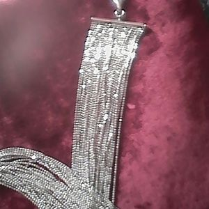 """Jewelry - Sterling silver 30 strand 34"""" 105 grams necklace"""